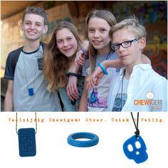 Chewigem is veelzijdig en uitermate geschikt voor kinderen, pubers en volwassenen. #kauwbehoefte www.chewigem.nl