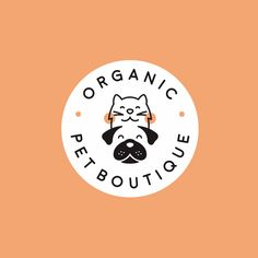 "39 fun logos that we seriously love - - organic pet boutique "" organic pet boutique The Effective Pictures We Offer You About trends tatt - Dog Logo Design, Best Logo Design, Pet Branding, Branding Design, Identity Branding, Corporate Branding, Creative Logo, Logo Animal, Inspiration Logo Design"