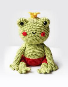 Fred the Frog – Amigurumi Pattern