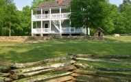 In 1825, the Cherokee national legislature established a capital called New Echota at the headwaters of the Oostanaula River. During its short history, New Echota was the site of the first Indian lang