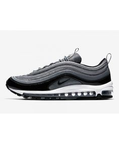 4fb736fbc4a Men s Nike Air Max 97 Grey Black Trainers UK Store Sale
