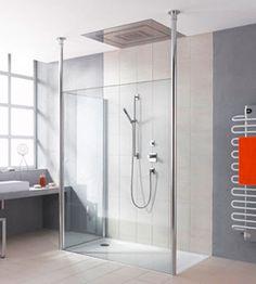 WALK-IN-SHOWER FREE - Die ganz große Dusch-Freiheit.