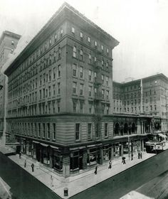 Lost New Orleans: 48 vintage photos of lost local landmarks for #throwbackthursday | NOLA.com.  The seven-story St. Charles Hotel dominated the 200 block of St. Charles Avenue from 1894 until it was demolished in 1974 to make way for Place St. Charles. It was the third hotel on that site. (NOLA.com | The Times-Picayune archive)