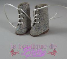 Glimmering Leather Boots for Blythe doll - Botas tornasoladas en piel para Blythe de LaBoutiquedeBlythe en Etsy