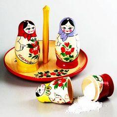 Matryoshka Salt & Pepper Shaker Set