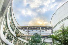 SC building Thammasat University, Thailand