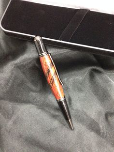 Handcrafted Executive Bloodwood Pen Finished In Gun Metal Hardware on Etsy, $34.99