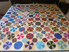 pies and tarts quilt.  started april 2010, finished april 2014.