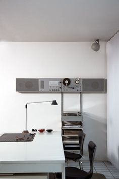 Dieter Rams' System in his own house