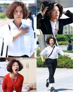 Hwang Jung-Eum 2015 in She Was Pretty (Kim Hye-Jin)