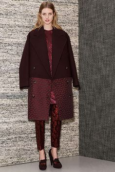 BURGUNDY. Stella McCartney Spring 13.