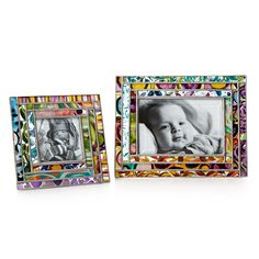 GEOMETRIC STAINED GLASS PICTURE FRAME | 4x6 Photo Frames | UncommonGoods