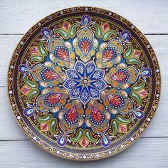 Еще одна красотка тарелочка