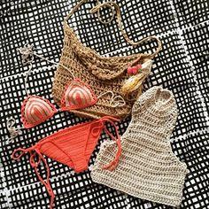 Love Birds, Sexy Bikini, Crochet Bikini, Bikinis, Swimwear, Retro, Instagram Posts, Collection, Fashion