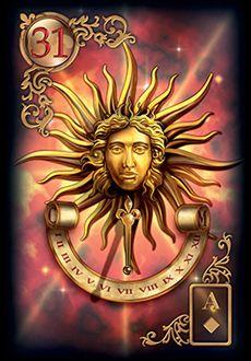 Saiba e aprenda mais sobre as combinações das cartas do Baralho Cigano Lenormand e aprofunde seus conhecimentos na carta Sol.