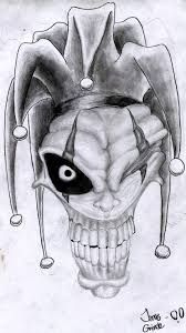 Image result for gothic clown tattoo sketch Wicked Jester, Evil Jester, Scary Clown Drawing, Creepy Drawings, Art Drawings Sketches, Tattoo Sketches, Tattoo Drawings, Clown Horror, Arte Horror