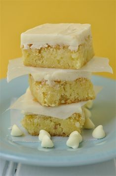 White Chocolate Decadence--for all the non-chocolate lovers:) Tall glass of milk and these will melt in your mouth!