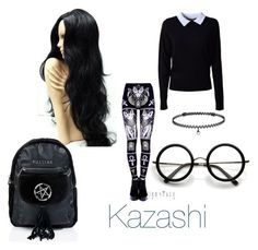 """My oc' casual clothing"" by hetalianoutfits ❤ liked on Polyvore featuring Essentiel, BERRICLE, ZeroUV and Killstar"