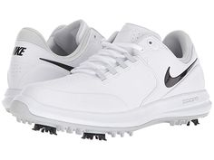 f4e886ab16af59 Nike Golf Air Zoom Accurate Women's Golf Shoes White/Black/Metallic  Silver/Pure Platinum