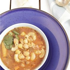 A very healthy vegetarian soup that's filling and satisfying.