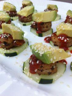 California Spicy Shrimp Bites - Perfect SUPER BOWL appetizer!