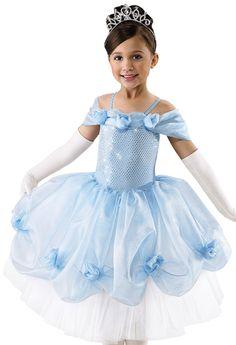 Girls' Princess Dance Dress; Weissman Costumes