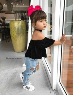 Baby Girl Fashion Outfits 41 Trendy Ideas – Baby For look here So Cute Baby, Cute Baby Clothes, Cute Babies, Cute Kids Fashion, Little Girl Fashion, Toddler Fashion, Cute Little Girls Outfits, Toddler Girl Outfits, Toddler Girl Style