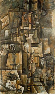 The Aficionado, Pablo Picasso davidcharlesfoxexpressionism.com #pablopicasso #picasso #abstractartist #surrealism #cubism #expressionism