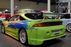 Mitsubishi Eclipse (The Fast & The Furious) Mitsubishi Eclipse, Tuner Cars, Jdm Cars, Pimped Out Cars, Toyota Paseo, Street Racing Cars, Mitsubishi Motors, Free Cars, Japanese Cars