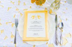 Vintage Yellow Wedding Ideas