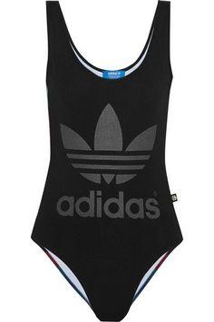 2b48bb732c66a Adidas Originals + Rita Ora O-Ray printed stretch bodysuit  AdidasOriginals   NETASPORTER Addidas