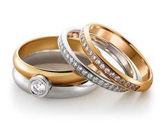 Smycka/Vackra Förlovningsringar & Vigselringar - Smycka