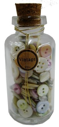 vintage buttons from tinsel trading company