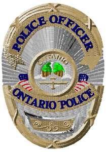 Ontario police badge