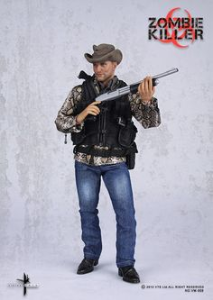 scale Zombie Killer Figure (Tallahassee from Zombieland? League Of Assassins, Zombie Art, Stuff And Thangs, Custom Action Figures, Sideshow Collectibles, Detective Comics, Cool Toys, Awesome Toys, Gi Joe