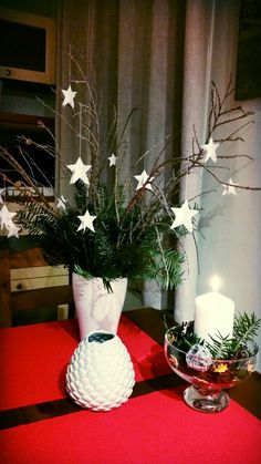 Exelent Christmas decoration for table!