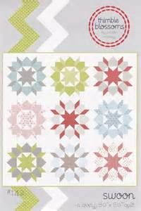 Details about Thimble Blossoms Quilt Sewing Pattern - Swoon