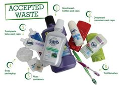 Tom's of Maine Accepted Waste