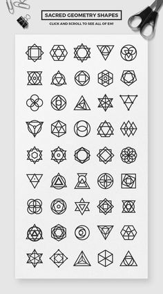 Branding Pack by Tugcu Design Co. on : Geometric Branding Pack by Tugcu Design Co. on Branding Pack by Tugcu Design Co. on : Geometric Branding Pack by Tugcu Design Co. Sacred Geometry Patterns, Geometric Symbols, Sacred Geometry Art, Geometric Logo, Geometric Designs, Geometry Shape, Geometric Tattoo Design, Geometric Patterns, Abstract Pattern
