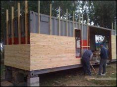 Casas feitas de containers