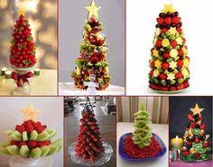Tante varianti dell'albero di frutta
