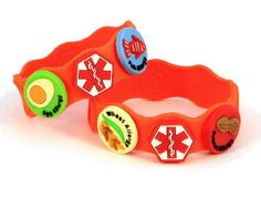 Allerbling medical bracelets for children