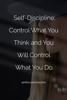 @MillionaireObjective self-discipline how to have more time #sucess #time #discipline #think #motivationalquotes