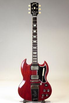 GIBSON CUSTOM SHOP[ギブソンカスタムショップ] Historic Collection SG Standard Reissue Maestro VOS Faded Cherry 2013|詳細写真