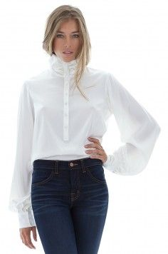 Chemisier femme, chemisier en soie, chemisier habillé - stefanie-renoma.com - Stefanie Renoma