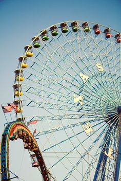 Biggest ferris wheel in North America...at the Texas State Fair. And yes.....I've ridden that(: