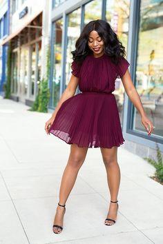 What I Am Wearing:Keepsake dress (here, herehere or here, also love theses herehere and here) // Shoes (here, similar hereand here, love this here) // OPI Nail Polish 'We the Female' (here) // MAC