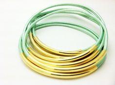 leather wrap bracelets via etsy - under $25 - so pretty!  want!