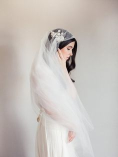 Hey, I found this really awesome Etsy listing at https://www.etsy.com/listing/202191455/new-bridal-veil-juliet-cap-veil-beaded