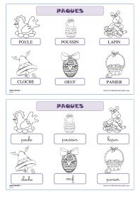 French easter coloring pages. World Thinking Day France Learning French For Kids, Teaching French, French Worksheets, Worksheets For Kids, French Kids, Easter Coloring Pages, World Thinking Day, Core French, French Classroom